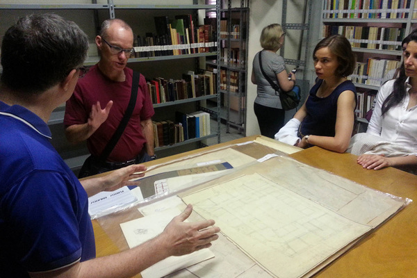 Touring the Redemptorists' Archives