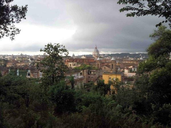 View from Viale Gabriele D'Annunzio, photo by Michael Skaggs