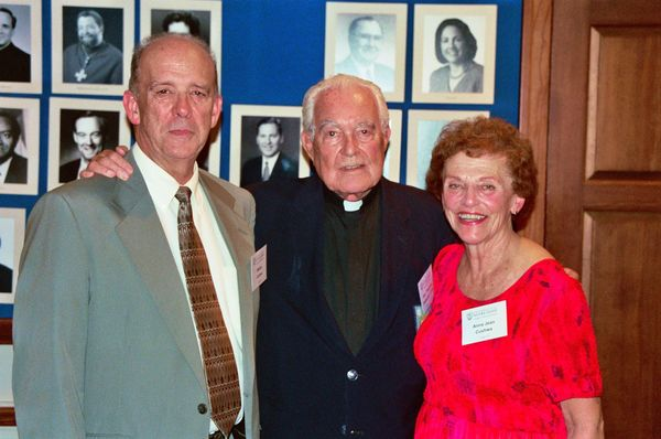 Fr Ted with Bill & Anna Jean Cushwa