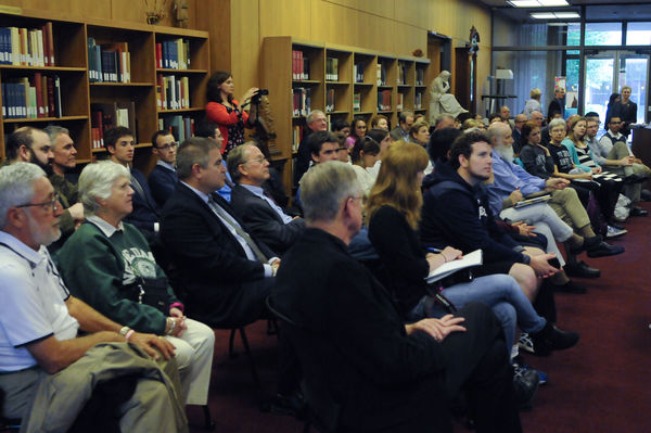 Badin Bible symposium crowd