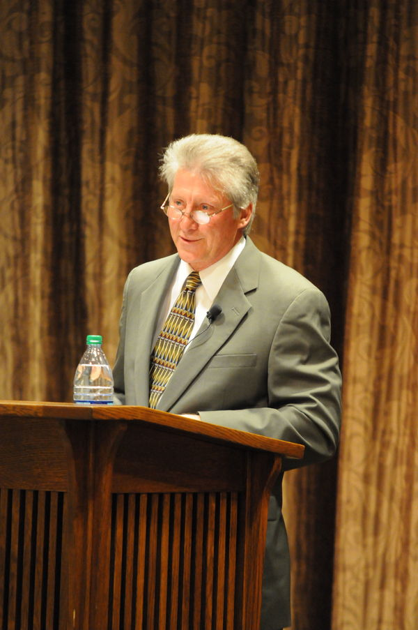 Novelist Ron Hansen Delivers Lecture On Being A Catholic Writer