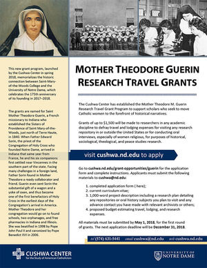 Theodore Guerin Travel Grant Flyer 05
