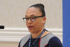 Commentator Jennifer Jones