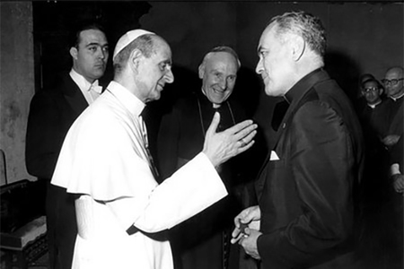 Paul VI and Hesburgh